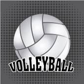 Volleyball ball — Stockvektor