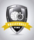 Volley ball — Vecteur