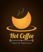 Heerlijke koffie — Stockvector