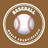 Baseball design — Stockvektor