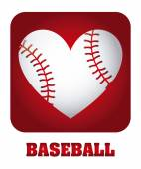 Baseball-design — Stockvektor