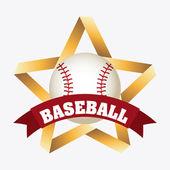 Conception de baseball — Vecteur