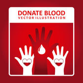 无偿献血 — 图库矢量图片