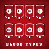 Blut spenden — Stockvektor