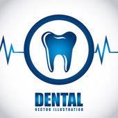 Dental care — Stock Vector