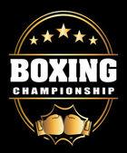 Boxing sport — Stock Vector