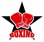 Deporte de boxeo — Vector de stock