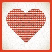 Love day — Stock Vector