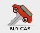 Buy car design — Stock Vector