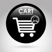 Shopping cart — Stock Vector
