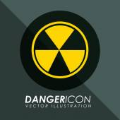 Danger icon — Stock Vector