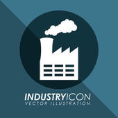 Industry icon — Stock Vector