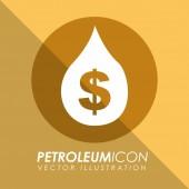 Petroleum icon — Stock Vector
