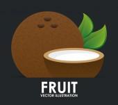 Fruit icon — Stock Vector