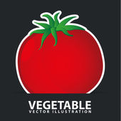 Vegetables icon — Stock Vector