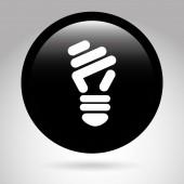 Ecology button design — Stock Vector