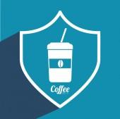 Coffee icon design — Stock Vector