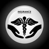 Insurance icon  — Stock Vector