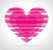 Love day, vector illustration. — Stock Vector