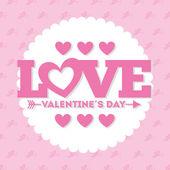 Valentines day — Vetor de Stock