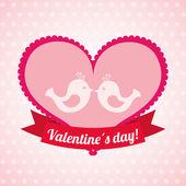 Valentines day  — Vector de stock