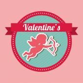 Valentinky den — Stock vektor