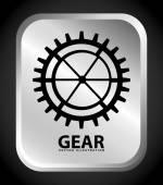 Gear icon — Stock Vector