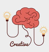 Idea design illustration — Stock Vector