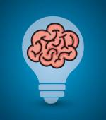 Idea design, vector illustration. — Stock Vector