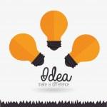Idea design, vector illustration. — Stock Vector #64349181
