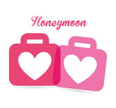 Honeymoon — Stock Vector