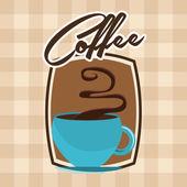 Delicious coffee — Stock Vector