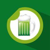Cold beer  — Stok Vektör
