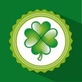 Clover leaf design  — Stock Vector