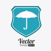Insurance design, vector illustration. — Stockvektor