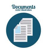 Documents icon  — Stock Vector