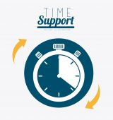 Technical support design ,vector illustration. — Stock Vector