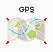 Gps signals — Stock Vector