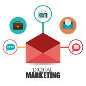 Marketing design, vector illustration. — Stock Vector