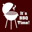 Barbecue restaurant design — Vector de stock  #64867557