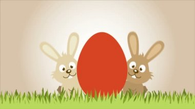 Easter Video animation — Stock Video