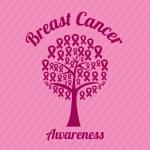 Breast cancer design, vector illustration. — Stock Vector #64993181