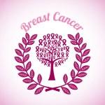 Breast cancer design, vector illustration. — Stock Vector #64993255
