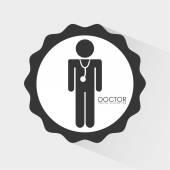 Medical design, vector illustration. — Stock Vector
