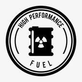 Fuel industry design — Stock Vector