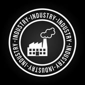 Industry icon design — Stock Vector