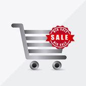 Shopping concept design — Stock Vector