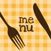 Menu restaurant design — Stock Vector