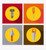 Tools icon design — Stok Vektör