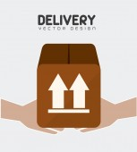 Delivery design illustration. — Stock Vector